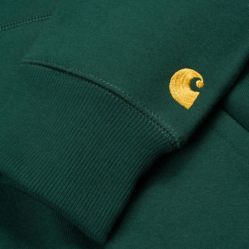 [CARHARTT WIP] Hooded Chase Sweatshirt (Conifer) 칼하트 체이스 후드