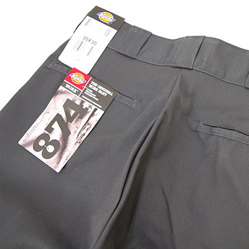 [Dickies] Original 874 Work Pant (Charcoal) 디키즈 오리지널 874 워크팬츠