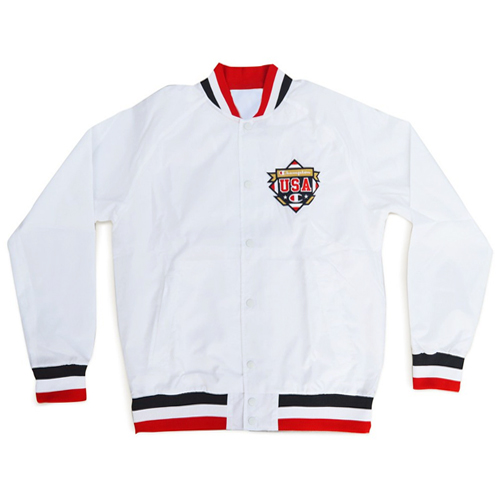 [CHAMPION] Victory Jacket (White) 챔피온 빅토리 자켓