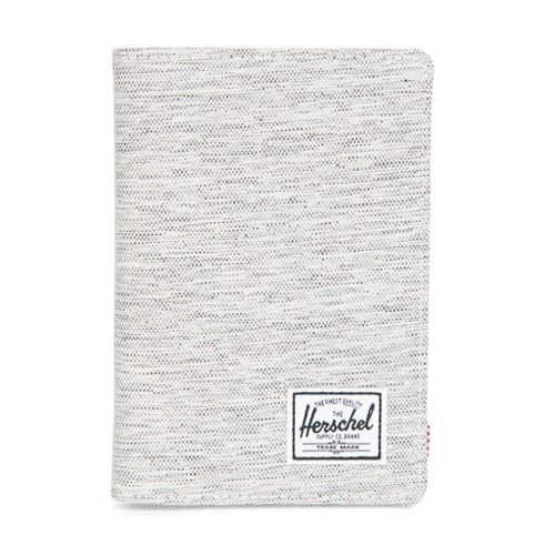 [Herschel] Raynor Passport Holder (Light Grey/Crosshatch) 허쉘 레이너 패스포트 홀더/여권지갑