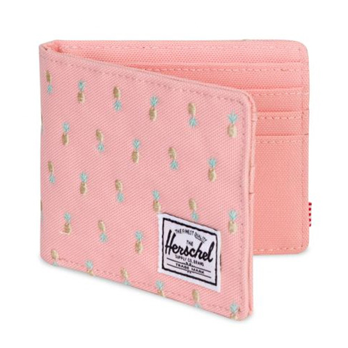 [Herschel] Roy Wallet (Peach Pineapple/RFID) 허쉘 로이 월렛/지갑