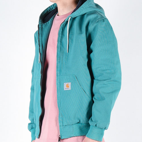 [CARHARTT WIP] Active Jacket (Soft Teal) 칼하트 액티브 자켓