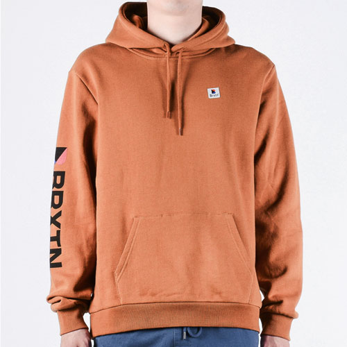 [BRIXTON] Stowell Intl Hood (Washed Copper) 브릭스톤 스토웰 후드