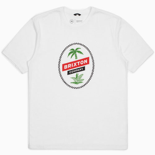 [BRIXTON] Tosh As S/S Prt (White) 브릭스톤 토시 반팔