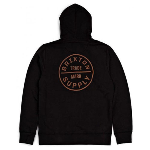 [Brixton] Oath Zip Hood (Washed Black) 브릭스톤 오쓰 후드 집업