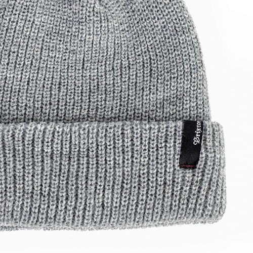 [Brixton] Heist Beanie (Light Grey Heather) 브릭스톤 헤이스트 비니