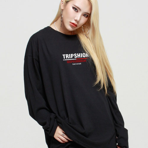 [TRIPSHION] Expression Long Sleeves (4color) 트립션 익스프레션 긴팔