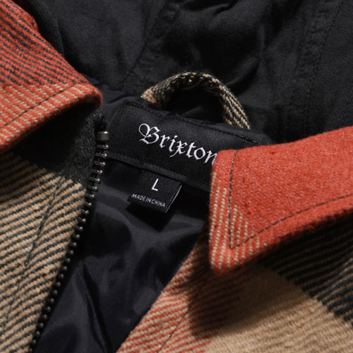[Brixton] Bowery Jacket (Black/Red) 브릭스톤 보웨리 자켓
