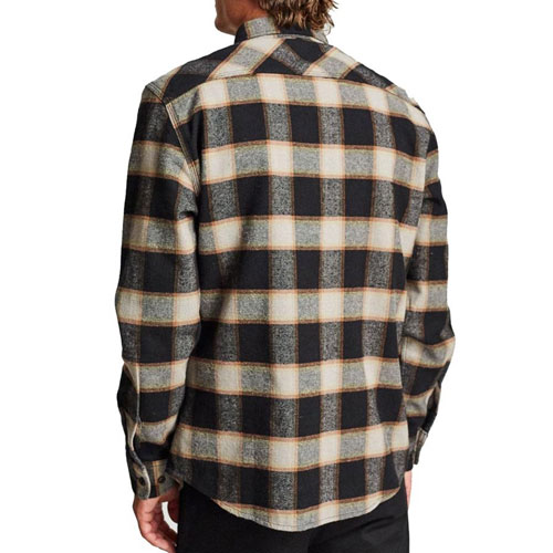 [Brixton] Bowery L/S Flannel (Black/Cream) 브릭스톤 보웨리 플란넬