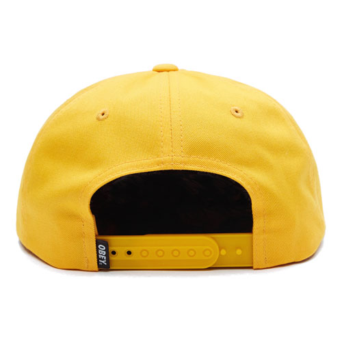 [OBEY] Vanish 6 Panel Snapback (Energy Yellow) 오베이 배니쉬 6패널 스냅백