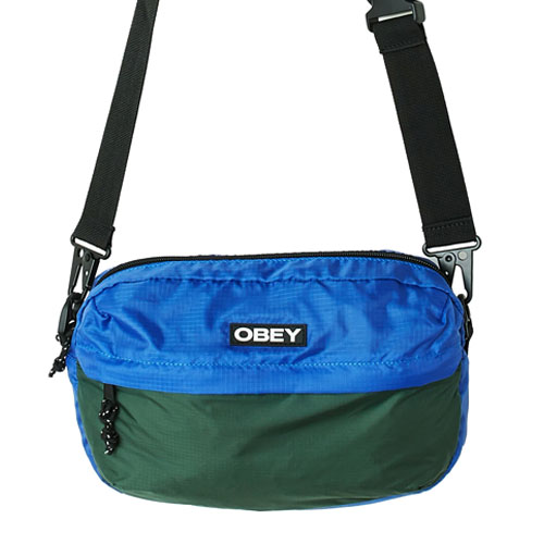 [OBEY] Commuter Traveler Bag (Blue Multi) 오베이 커뮤터 트레블러 백