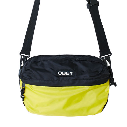 [OBEY] Commuter Traveler Bag (Black Multi) 오베이 커뮤터 트레블러 백