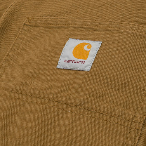 [Carhartt WIP] Double Knee Pant Dearborn (Hamilton Brown Rinsed) 칼하트 더블니 팬츠 디어본