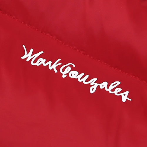 [Mark Gonzales] M/G Duck Down Puffer Jacket (Red) 마크곤잘레스 덕다운 푸퍼 자켓