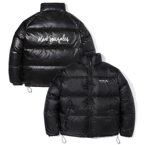 [Mark Gonzales] M/G Duck Down Reversible Jacket (Black) 마크곤잘레스 덕다운 리버시블 자켓
