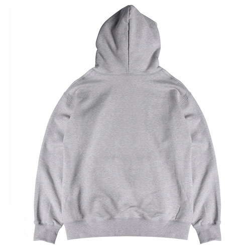 [Vynic] Oval Logo Hoodie (Heather Grey) 바이닉 오벌 로고 후드