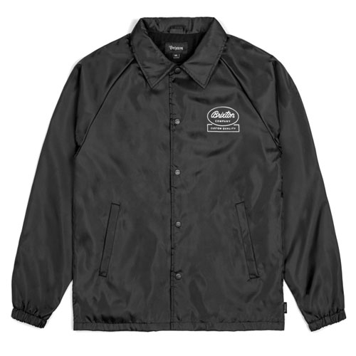 [BRIXTON] Dale Jacket (Black White) 브릭스톤 데일 자켓