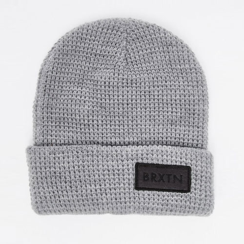 [Brixton] Rift Beanie (Light Grey/Black) 브릭스톤 리프트 비니