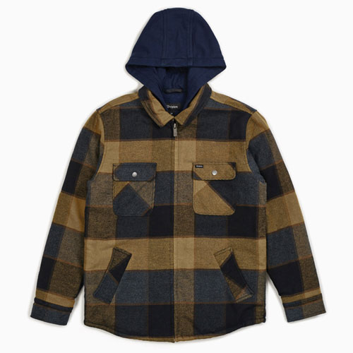 [Brixton] Bowery Jacket (Gold/Navy) 브릭스톤 보웨리 자켓