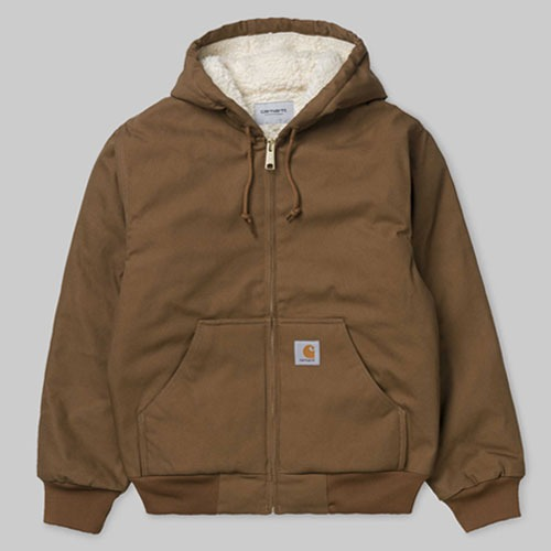 [Carhartt WIP] Active Pile Jacket (Hamilton Brown) 칼하트 액티브 파일 자켓