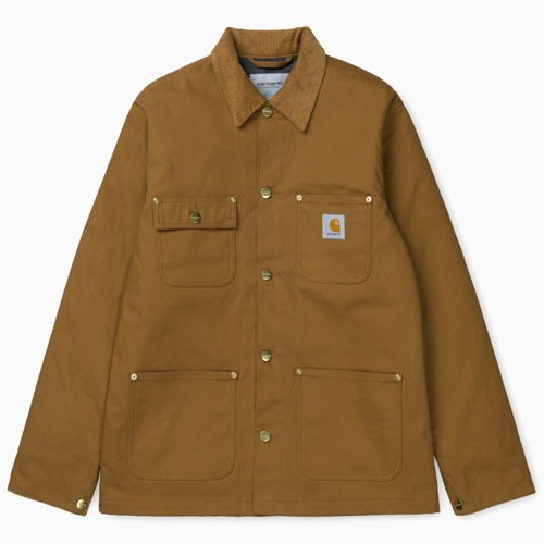 [Carhartt WIP] Michigan Coat (Hamilton Brown Rigid) 칼하트 미시건 코트