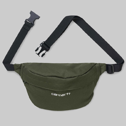 [Carhartt WIP] Payton Hip Bag (Cypress/White) 칼하트 페이톤 힙색