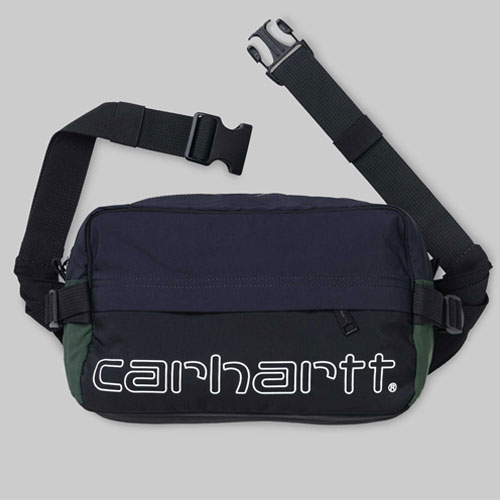 [Carhartt WIP] Terrace Hip Bag (Black/Dark Navy/Bottle Green) 칼하트 테라스 힙백