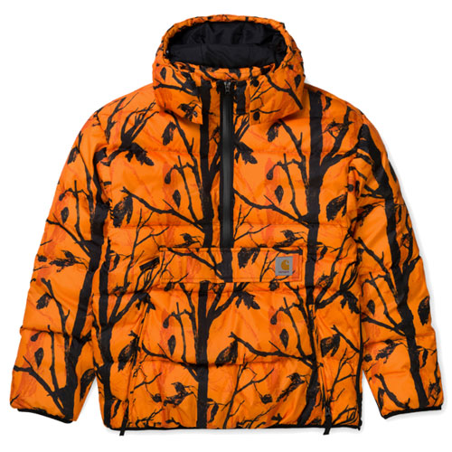 [Carhartt WIP] Jones Pullover (Camo Tree, Orange) 칼하트 존스 풀오버