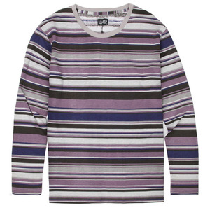 [Cheap Monday] Tarn LS Stripe (Gray/Black Plum) 칩먼데이 긴팔