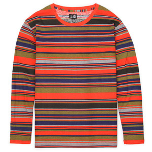 [Cheap Monday] Tarn LS Stripe (Piery Red) 칩먼데이 긴팔