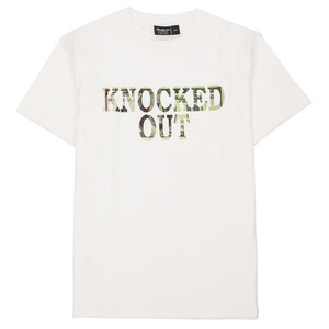 BADPRICE KNOCKED DOLLER T-SHIRT (WHITE)