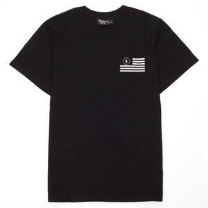 BADPRICE FLAG T-SHIRT (BLACK)