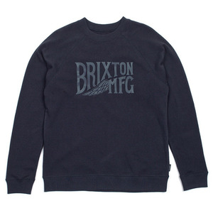 [BRIXTON] COVENTRY CREW FLEECE (WASHED NAVY) 브릭스톤 커벤트리 크루넥