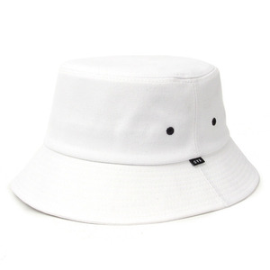 BADPRICE BASIC BUCKET HAT (WHITE)