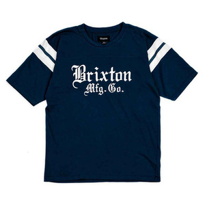 [BRIXTON] VINCENT S/S KNIT (Navy) 브릭스톤 빈센트 반팔