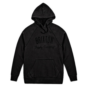 [BRIXTON] DRIVEN HOODED FLEECE (Washed Black) 브릭스톤 드리븐 후드