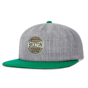 [BRIXTON] HUMPHREY CAP (HEATHER GREY/GREEN) 브릭스톤 험프리 스트랩백
