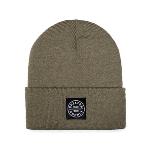 [Brixton] Oath Watch Beanie (Shale Brown) 브릭스톤 오쓰 왓치캡 비니