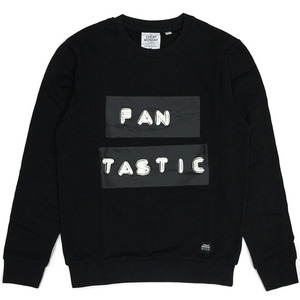 [Cheap Monday] Per Sweat Fan Tastic (Black) 칩먼데이 크루넥