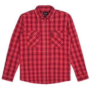[BRIXTON] BOWERY L/S FLANNEL (RED/BLACK COMBO) 브릭스톤 체크셔츠