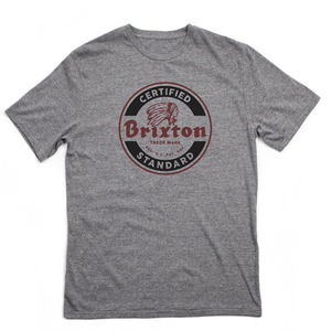 [BRIXTON] SOTO S/S STANDARD TEE (Heather Grey) 브릭스톤 소토 반팔