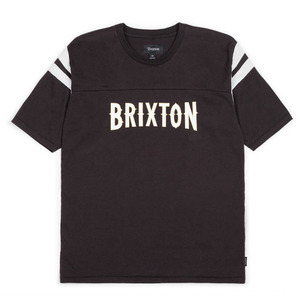 [BRIXTON] BENSON S/S KNIT (BLACK/WHITE) 브릭스톤 벤슨 반팔